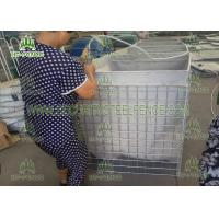 Easy Installation Welded Mesh Gabions/ PVC Coated Gabion BoxFor Military Security Manufactures