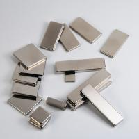 Nickel permanent strong block / cube neodymium magnet for industry or package Manufactures