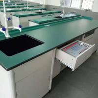 Aluminium Wood Structure School Lab Furniture Laboratory Workbench Science Lab Bench Biology Laboratory Table Manufactures