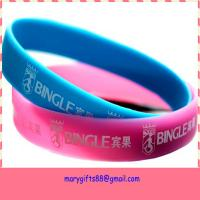 2014 New Promotional Products Novelty Items Silicone Wristbands Manufactures