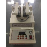 China ASTM Lab Equipment Taber Abrasion Testing Machine AC220V / 50HZ For Plastic for sale