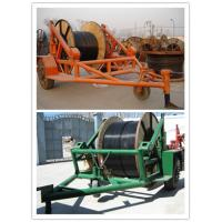 pictures cable trailer,cable drum table, new type Cable Conductor Drum Carrier Manufactures