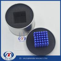 Buy cheap N35 magnetic ball D5mm of blue color from wholesalers