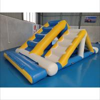 Commercial Inflatable Ladder With 0.9mm PVC Tarpaulin For Water Sport Games for sale