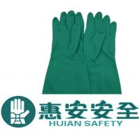 100% Nitrile Rubber Latex Gloves For Chemical Resistance Hand Protection Manufactures