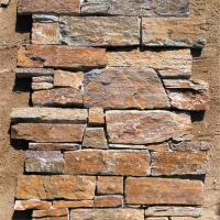 Natural stone Cement Backed Ledgestone Panel / Stone Cladding Panels Wear Resistant Manufactures