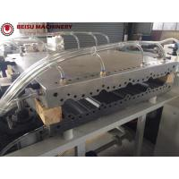 China 55KW Extruder Power Plastic Sheet Production Line Double Screw Design on sale
