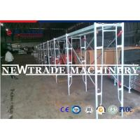 Quality Hot Dipped Galvanized Scaffolding Frame Walk Through Frame Scaffolding With SGS for sale