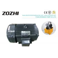7.5HP 10KW Hollow Shaft Hydraulic Motor YT132M-4 For Power Pump Hydraulic Station Manufactures
