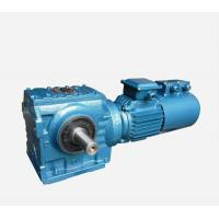 S series helical  speed reducer gearbox , big ratio Cast iron gear reducer Manufactures