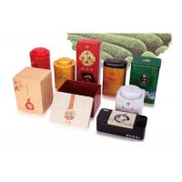 Octagonal Shape Empty Custom Product Packaging Boxes Hinged Tins Containers Metal Manufactures