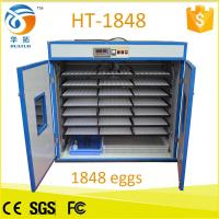 Monthy top selling 1848 egg incubator poultry machine HT-1848 Manufactures
