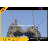 3 ton small  Internal Climbing Tower Crane Free standing height 29M Manufactures