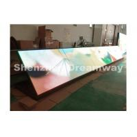 10 mm Pixel Pitch P10 Outdoor LED Signs With Front Service Synchronous Control Manufactures