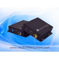Buy cheap 4K/2K HDMI fiber optic extender for 10G non-compressed HDMI transparently from wholesalers