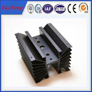 OEM cnc machined aluminum parts profile of aluminum radiator Manufactures