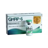 Ghrp 6 HGH Human Growth Hormone 99% Purity Peptide Acetate For Bodybuilding Manufactures