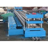 Durable Crash Barrier Roll Forming Machine 3 Waves Highway Guardrail Making Machine Manufactures