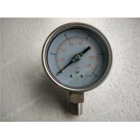 100mm  All Stainless Steel Pressure Gauge with Welding Connection Manufactures