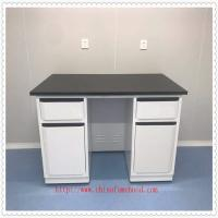 China Flame Retardant Chemistry Lab Furniture FRP Test Table Floor Mounted Structure on sale