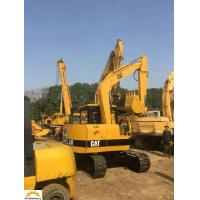 Second Hand E200b E120b E70b Cat Excavator , Old Cat Excavator Yellow Color Manufactures