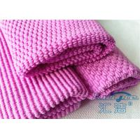 China Pink Super Absorbent Cleaning Microfiber Cloth 16 x 16 , Microfiber Cleaning Towels on sale