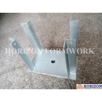 Q235 Steel Plate Concrete Forming Accessories , Galvanized Fork Head for Slab Form Construction Manufactures