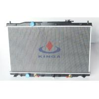 CRV RM1 / 2 / 4 2012 Honda Aluminum Radiator with plastic tank for Cooling System Manufactures