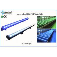 24x3w 3 in 1 LED Wall Wash light Washer Linear Bar Waterproof Light With IP65 Manufactures