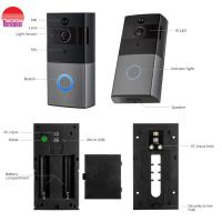 China Smart Home wireless wifi Video Door Bell back up battery power two-way audio on sale