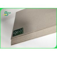 Grade AA / AAA Grey Chip Board Thickness Customized 1000mm Recycled Paper Manufactures