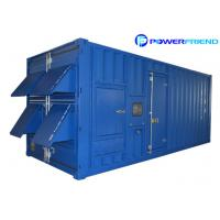 Container Type Diesel Water Cooled Generator Soundproof 1250KVA / 1000KW Manufactures