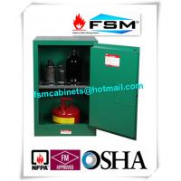 12 Gallon Green Safety Hazardous Storage Containers For Pesticide / Toxic Manufactures