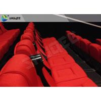 Quality 3D Cinema System 3D Stereo Movie Real Leather Motion Chair for sale