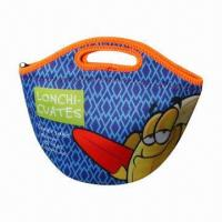 Neoprene Lunch Tote Bag, Used as Cooler or Thermal Bag with Fashion Design, Any Colors Available Manufactures