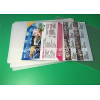 A4 Laminating Pouches 80 Micron / 100 Micron , PET Laminating Film Pouches Manufactures