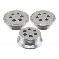 0.05mm Tolerance Precision CNC Parts Fastener Flange for Heating Industry Manufactures