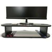 Oval Shape Computer Monitor Riser Customized Color With Cut - Out Slots Manufactures