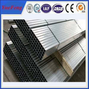 Aluminium extrusions alloy 6000 series anodizing extrusion profile aluminium tube Manufactures