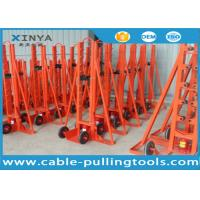 China Underground Cable Tools Heavy Duty 20T Hydraulic Cable Reel Elevator on sale
