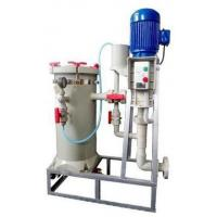Chemical Filter Unit Electroplating Equipment For Wastewater Surface Treatment Manufactures