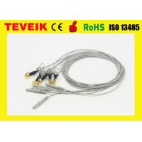 Medical DIN 1.5 EEG Cable with Ear-clip, Waterproof Gold Plated Copper EEG Electrode Wires Manufactures