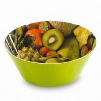 Customized Salad Bowl, Made of 100% Melamine Manufactures