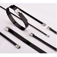 Stainless Steel Cable Ties PVC Coated Manufactures
