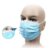 Waterproof Disposable Medical Mask For House Cleaning / Infant And Elderly Care Manufactures