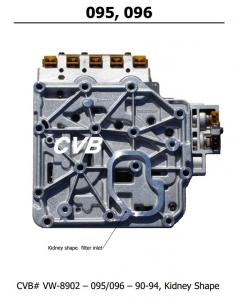Auto Transmission 095 096 sdenoid valve body good quality used original parts Manufactures