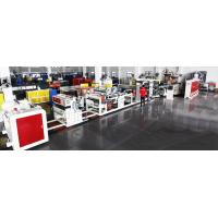 China HIPS ABS PP Sheet Single Screw Extrusion Machine , Hdpe Sheet Extrusion Line on sale