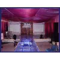 Used Portable Stage With 18mm Thickness Glass Board Manufactures