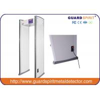 China Archway Basic Function 6 Zone Walk Through Metal Detector Door Frame For Security wholesale