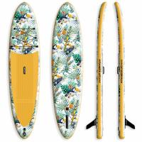 China 18LB Beginner Stand Up Paddle Board Inflatable Type 15PSI Pressure For Yoga on sale